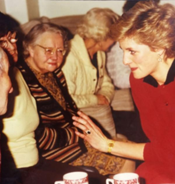 The Peel was recognised by a visit from Princess Diana in 1986.